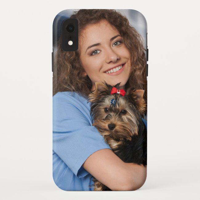 Modern Personalize Photo iPhone Case