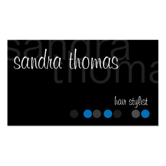 Modern Personalized - Blue Business Card