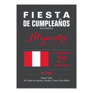 Modern: Peru Party Card