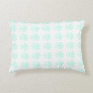 Modern Petal Snowflake base Pattern Decorative Pillow
