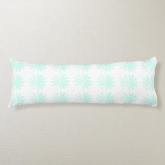 Modern Petal Snowflake base Pattern Body Pillow