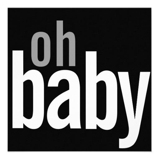 Modern Photo Card Birth Announcements