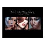 Modern Photo Card for Makeup Artists, Stylists II