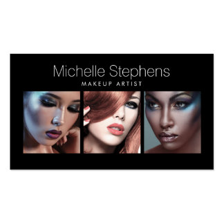 Modern Photo Card for Makeup Artists, Stylists II Business Card