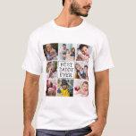 Modern Photo Collage   Best Daddy Ever T-Shirt
