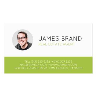 Real estate business cards 4200 real estate business for Modern real estate business cards