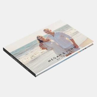 Modern Photo Wedding Guest Book