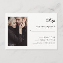 Modern Photo | Wedding RSVP