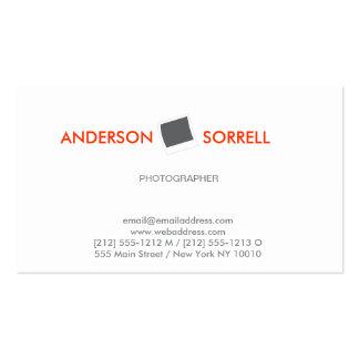 MODERN PHOTOGRAPHER LOGO Business Card