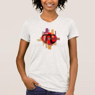 Modern Pi Composition, Geometric T-shirt