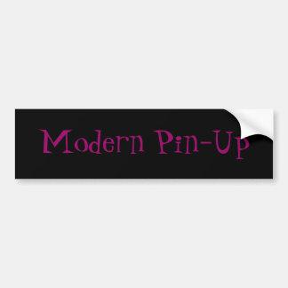 Modern Pin-Up Bumper Sticker
