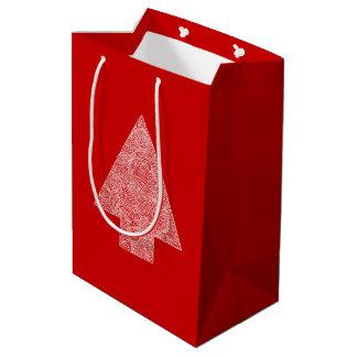 Modern Pine Tree Medium Gift Bag