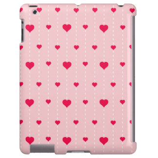 Modern Pink And Red Hearts Pattern