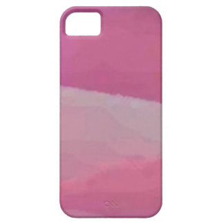 Modern pink_bub oils marble pattern-iphone5 iPhone SE/5/5s case