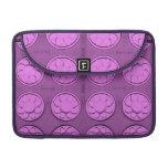 Modern pink flowers sleeves for MacBook pro