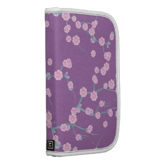 Modern Pink Purple Cherries Blossom Floral Pattern Organizer