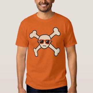 modern pirate face t shirt