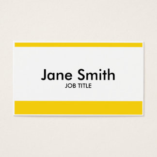 Modern Plain Simple Professional Stylish Classy Business Card
