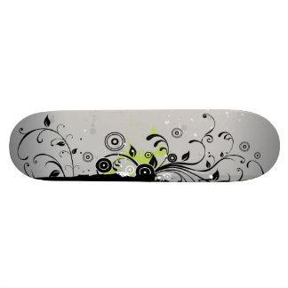 Modern Plant Ornament Skateboard