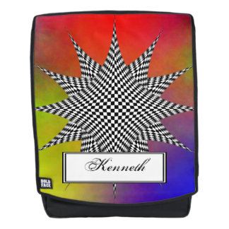 Modern Plasma by Kenneth Yoncich Backpack