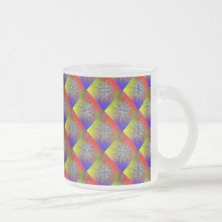 Modern Plasma by Kenneth Yoncich Frosted Glass Coffee Mug