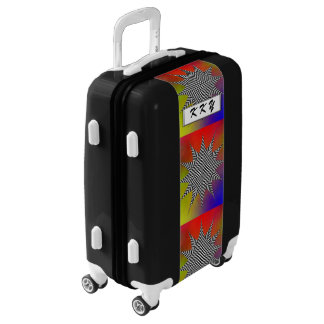 Modern Plasma by Kenneth Yoncich Luggage