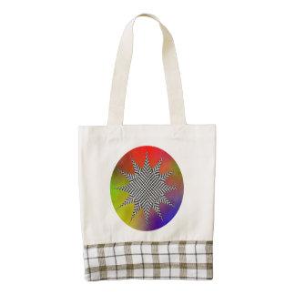 Modern Plasma Zazzle HEART Tote Bag
