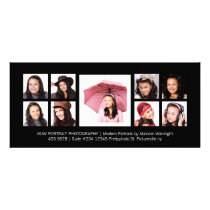 Modern Portraits Pro Photography Rack Card