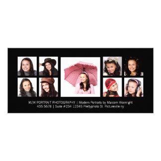 Modern Portraits Pro Photography Rack Card