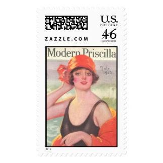 Modern Priscilla July 1923 Postage Stamp