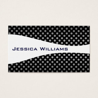 Modern Professional Black and White Business Cards