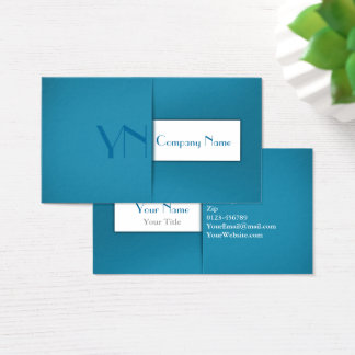 Modern Professional Blue Case - Business Card