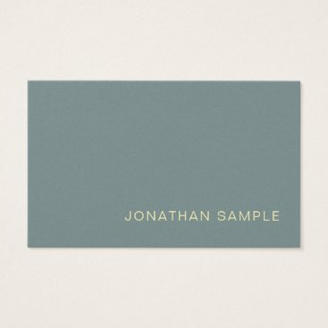 Lawyer Themed Modern Professional Creative Pearl Finish Deluxe Business Card