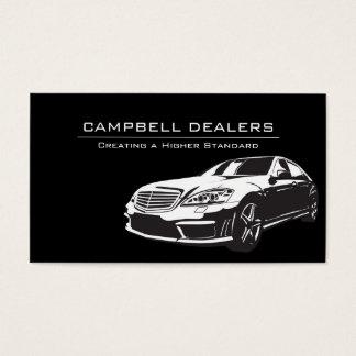 Modern Professional Dealership Auto Sale Business Card