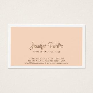 Modern Professional Elegant Trendy Color Design Business Card
