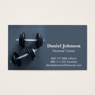 Modern, Professional, Fitness, Personal Trainer Business Card
