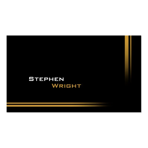 Modern Professional Gradient Color Double-Sided Standard Business Cards (Pack Of 100)