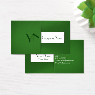 Modern Professional Green Case - Business Card