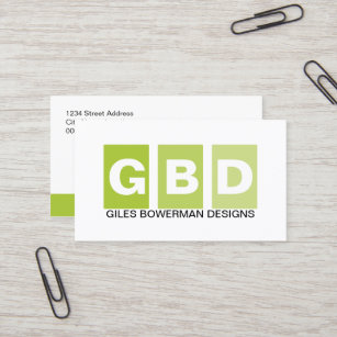 Socialitedesigns business cards zazzle modern professional green business card reheart