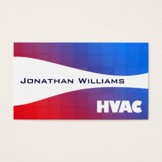 Hvac business cards templates zazzle for Hvac business card template