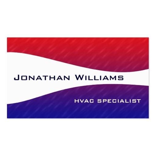 Hvac business card templates page2 bizcardstudio modern professional hvac business cards wajeb Images