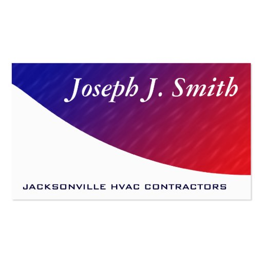 modern professional hvac business cards zazzle