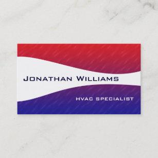 Hvac business cards zazzle modern professional hvac business cards colourmoves