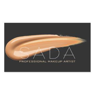 MODERN & PROFESSIONAL MAKEUP ARTIST BUSINESS CARD