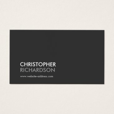 1201am MODERN PROFESSIONAL No. 1 Business Card