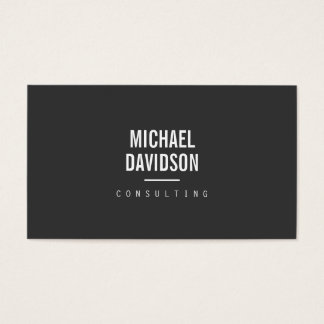 MODERN PROFESSIONAL No. 4 Business Card
