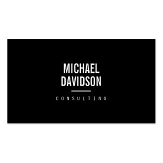 MODERN PROFESSIONAL No. 6 Business Card