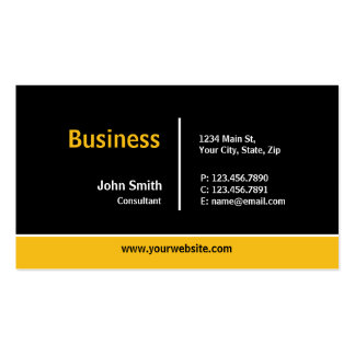 Modern Professional Plain Simple Computer Repair Double-Sided Standard Business Cards (Pack Of 100)