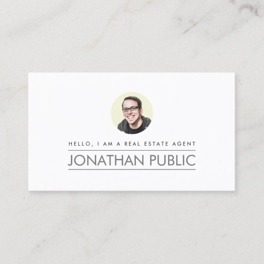 Modern professional real estate business card zazzle modern professional real estate business card reheart Images