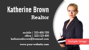 Real estate business cards zazzle modern professional realtor real estate photo business card colourmoves Gallery